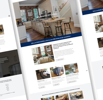 Woodwise Kitchens Web Design Newbury Berkshire