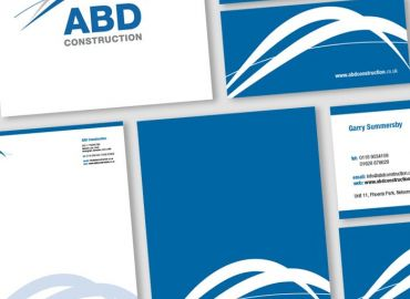 Corporate Identity for ABD Construction