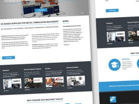 Web Design for WJS UK