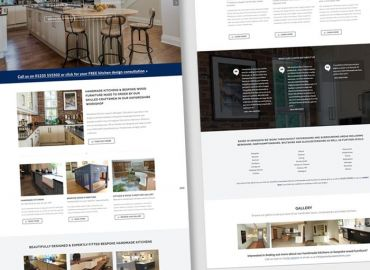 Web Design for Woodwise Kitchens