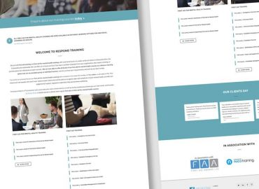 Web Design for Respond Training