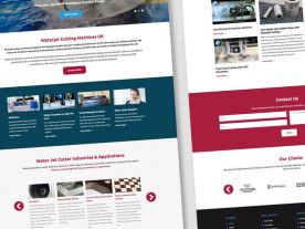 Web Design for Waterjet Sweden