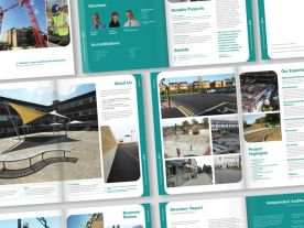 Annual Report Design for Ashridge