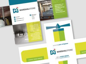 Direct Mail Design for Marshal Stone