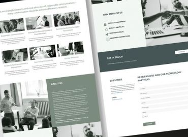 Web Design for Oliver Searle